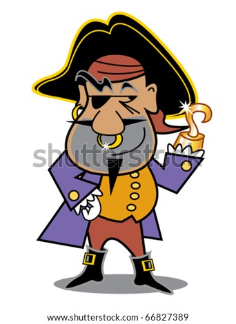 Pirate Wearing Eye Patch