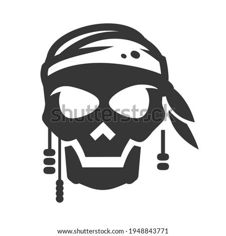 pirate symbol  avatar bold