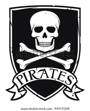 pirate symbol or coat of arms