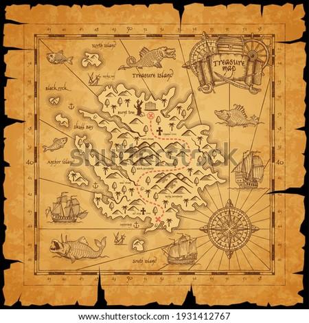 pirate treasure island ancient