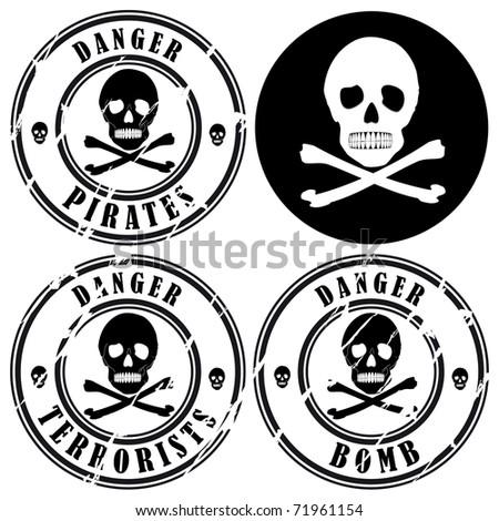 Pirates - stock vector