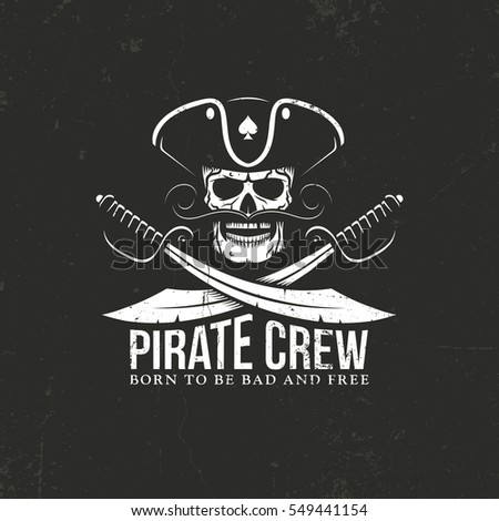 pirates crew logo jolly roger