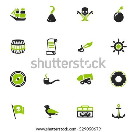pirates icon set for web sites