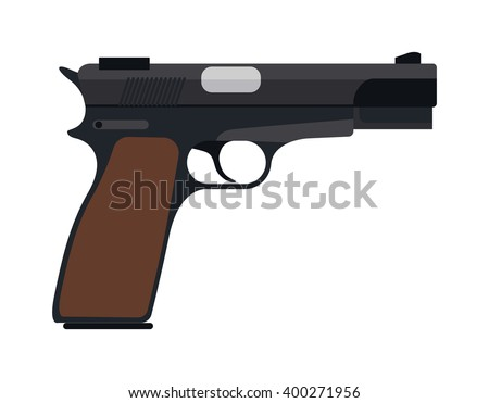 pistol gun fire security bullet