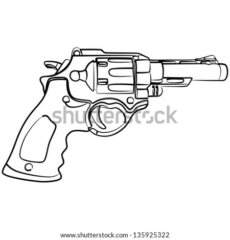 pistol  illustration