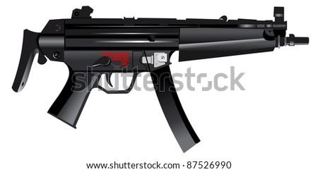 Pistol-machine gun