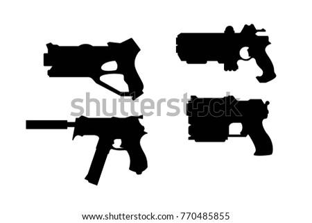 pistols for laser tag set