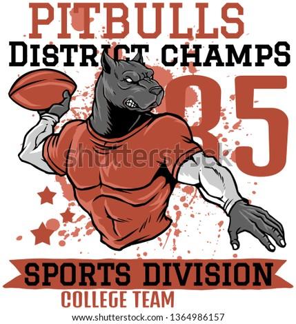 PIT-BULLS DISTRICT CHAMPS  #1364986157