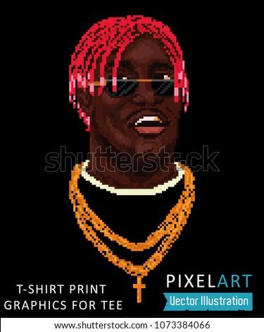 pixel art   cool swag image