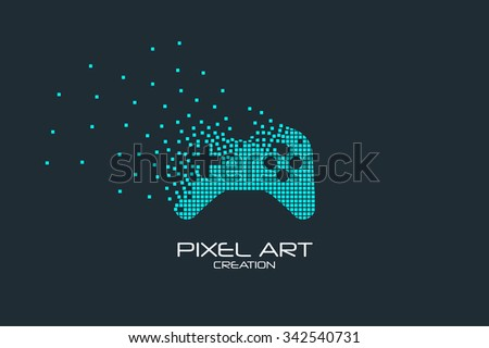 pixel art design of the