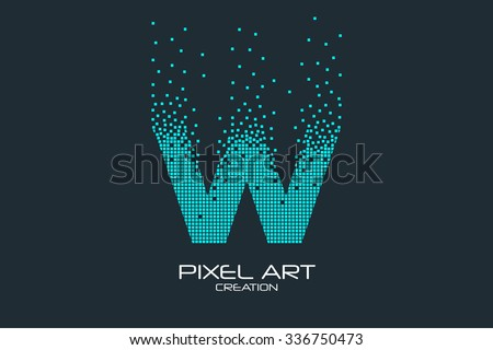 W Letter Vector Logo Template Download Free Vector Art