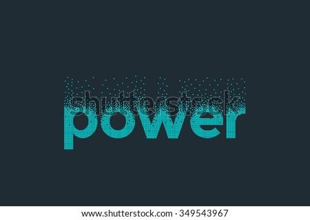 pixel art design of the word