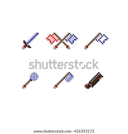 pixel art game arsenal 2d blade