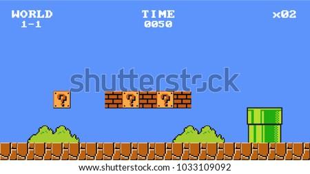 Pixel art Game Design