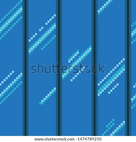 pixel art glass wall texture
