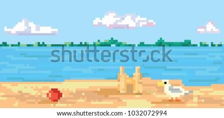 pixel art  pixel background