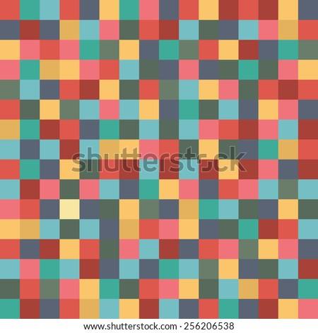pixel art style vector