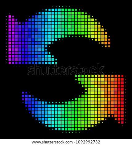pixel bright halftone refresh