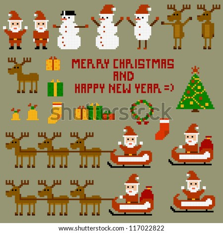 Pixel Christmas Holidays