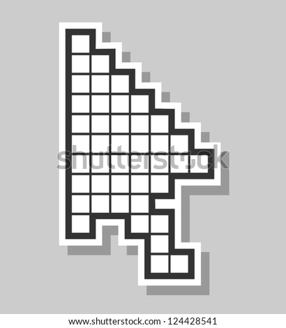 Pixel cursor