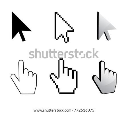 pixel cursor icon mouse