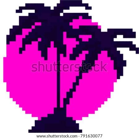 pixel design poster   vector