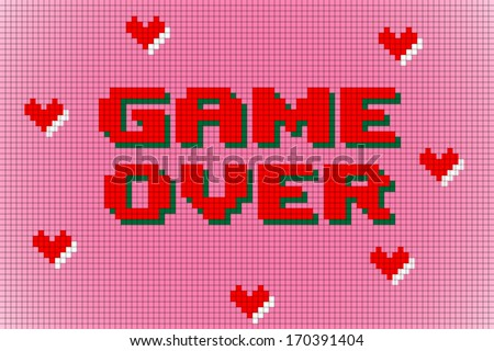 Game Over Free Vector Background Download Free Vector Art Stock