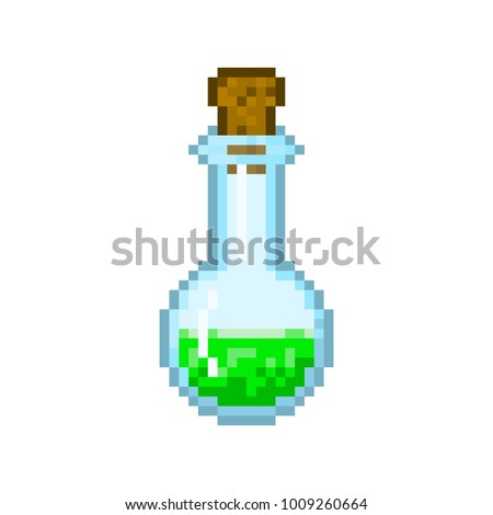 Pixel magic potion for games and websites