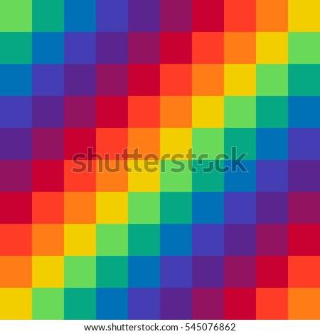 pixel rainbow background