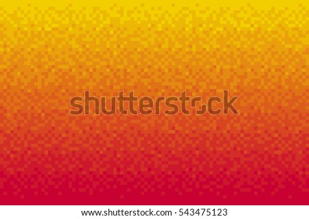 pixel red gradient background