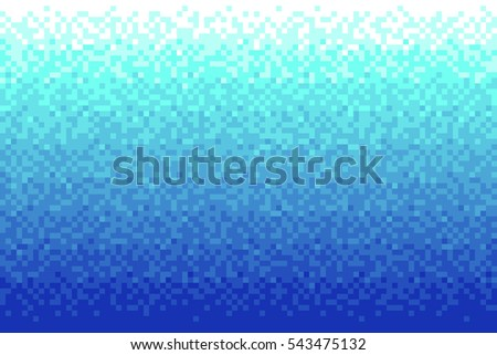 Pixel red gradient background Vector illustration