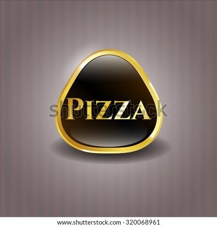 Pizza golden badge