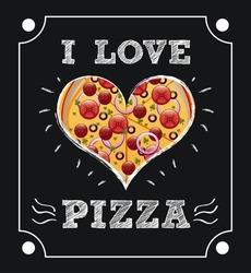 pizza graphic design , vector illustration