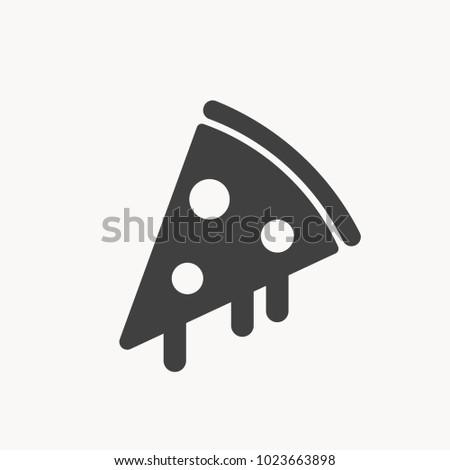 pizza icon EPS10