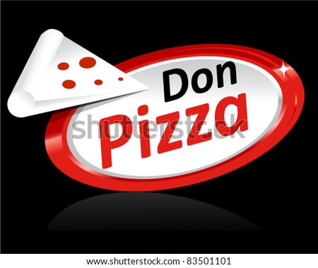 Pizza Icon Template