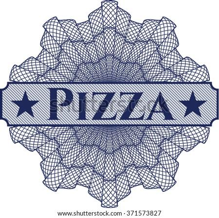 Pizza linear rosette