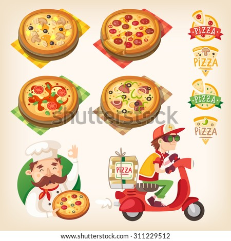 pizza related pictures  kinds