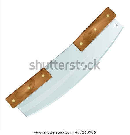 pizza rocker knife icon