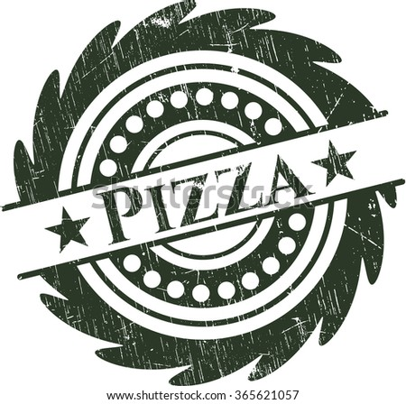 Pizza rubber texture
