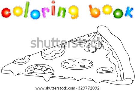 pizza with salami  tomato