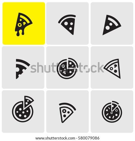 Pizzas icons