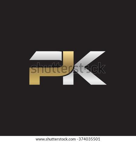 pk company linked letter logo