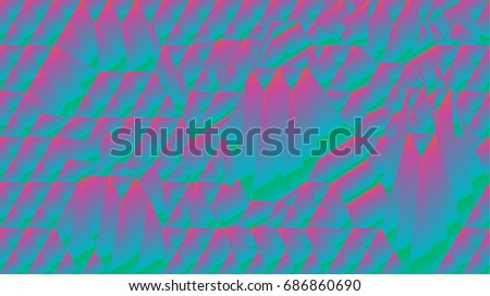 placard with abstract liquid