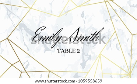 Pattern Background With Abstract Three Sided Shape Download Free - Place card dimensions