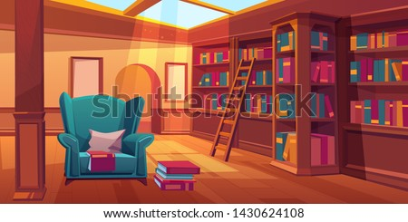 place for reading books  home