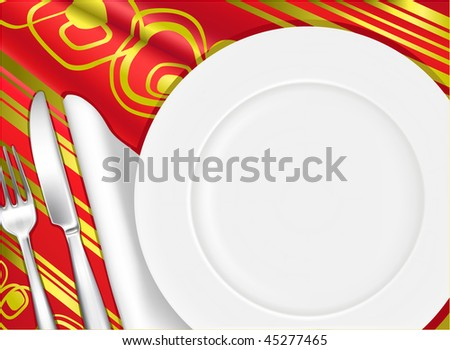 Place setting, Background