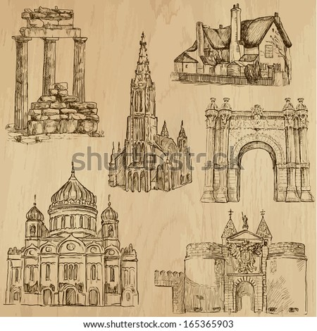 places and architecture around...