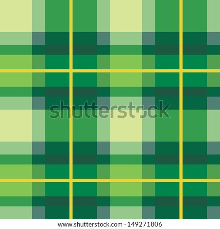 plaid fabric texture  green
