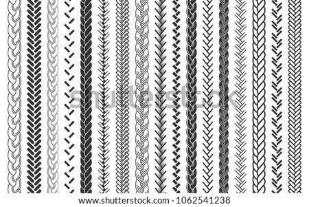 Vector Rope Brush - Download Free Vectors, Clipart Graphics