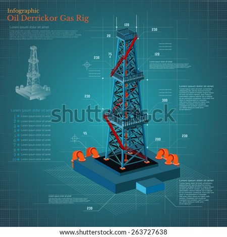 Oil Tower Drawing Plan Drawing Oil Derrick Tower